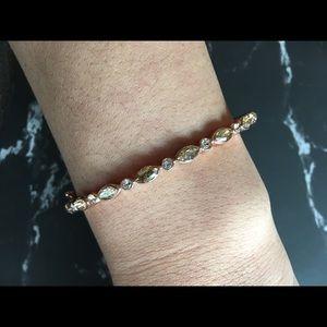 Givenchy rose gold bangle bracelet